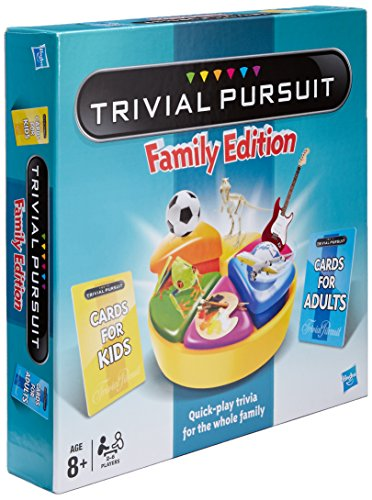 Hasbro - Trivial Pursuit Family Edition - Trivial Pursuit Famille Version Anglaise