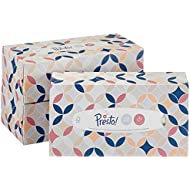Amazon Brand - Presto! 3-Ply Facial Tissues, 12 Pack (12 x 90 Tissues)