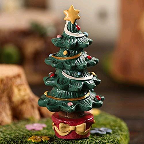 Aquarium Dekor Aquarium Aquarium Ornament, Harz Handwerk Cartoon Weihnachten Serie Landschaftsbau Dekor Weihnachtsbaum