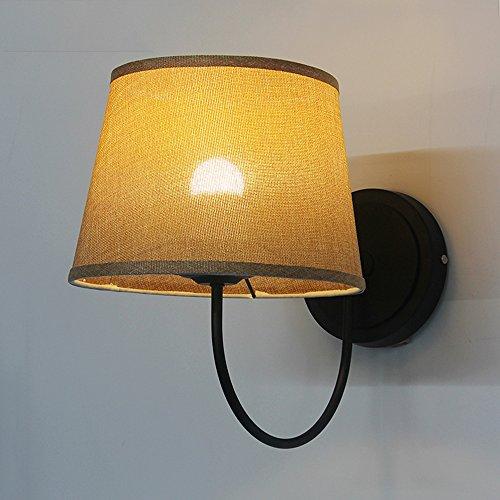wall-light-american-village-nordic-minimalist-wall-lights-iron-elbow-fabrics-bedside-lamp