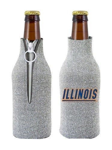 Caseys 8686745218 Illinois Fighting Illini Bottle Suit Holder - Glitter Sox-logo Mini