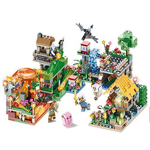 ack Baustein Spielzeug Serie mit Rolling Ball Modell City Building kleine Partikel Puzzle Montage Jungen und Mädchen Domino ()