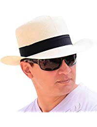 Gamboa - Cappello Panama Autentico Unisex Capello di Paglia Colonial 0df69394459d