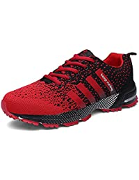 SOLLOMENSI Men Women Sports Shoes Running Sneakers Trainers Air Cushion Fitness Athletic Walking Gym
