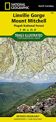 Linville Gorge / Mt. Mitchell: NATIONAL GEOGRAPHIC Trails Illustrated USA Südosten (National Geographic Trails Illustrated Topographic Maps, Band 779)