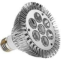 Dimmable E27 PAR30 7W 420-450LM 3000-3500K Warm White LED Light