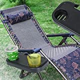 SLB Works Brand New Portable Folding Camping Picnic Outdoor Beach Garden Chair Side Tray For Drink