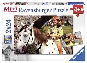 Puzzle 24 pièces - 2 Puzzles - Fifi Brindacier