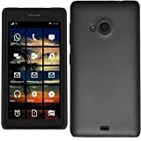 GoldKart Replacement Back Door Cover Panel For Microsoft Lumia 535- Black