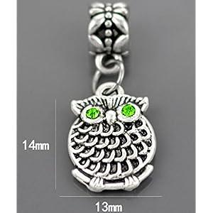 J*myi DIY antiker Silber Schmuck Style Glasperlen, handgemachte Perlen Armband-material
