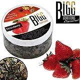 Bigg Steam Stones 2 Piedras de Vapor Grandes de Fresa de 100 g, sin Tabaco, sabores de Shisha para Pipas de Shisha (el Embalaje Puede Variar)