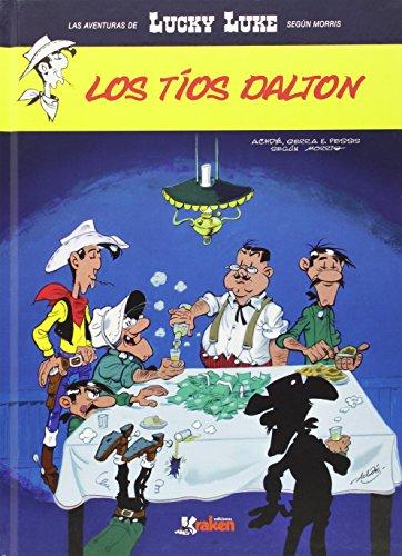 Portada del libro Lucky Luke. Los tíos Dalton (Aventuras Lucky Luke (morris))