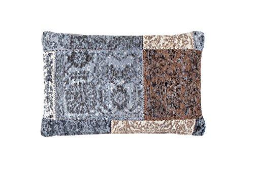 Sofakissen Kopfkissen Dekokissen Couch- oder Palettenkissen Lounge Rückenkissen Design Symphony Pillow 160 Braun Chenille 40x60cm | Teppiche günstig online kaufen -