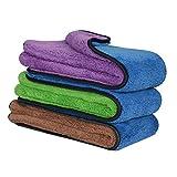 Global Brands Online Soft Coral Velvet saugfähige ReinigungstüCher Handtuch Car Home Kitchen Washing Tuch