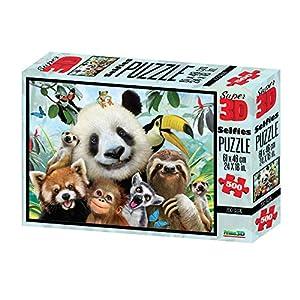 Philos 9051 Zoo Selfie - Puzzle 3D (500 Piezas)