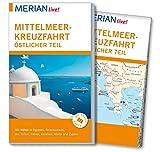 MERIAN live! Reiseführer Mittelmeerkreuzfahrt Östlicher Teil: Mit Kartenatlas im Buch und Extra-Karte zum Herausnehmen - Klaus Bötig