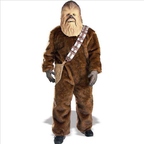 Rubies Mens Star Wars Deluxe Chewbacca Costume, Size Standard (japan (Für Kostüme Erwachsene Deluxe Chewbacca)