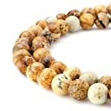 Beadnova High Quality Natural Gemstone Gem Round Loose Jewelry Findings Beads For Bracelet Necklace.