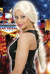 Long Big Plait - Blonde Wig for Hair Accessory Fancy Dress