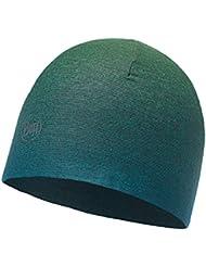 SET - BUFF® MICROFIBER REVERSIBLE HAT Gorro + UP® Ultrapower Paño tubular   Beanie   Logo   Transpirable   Antiolor   Reversible, Buff Design:627. NOD DEEP TEAL - 115334.710.10.00
