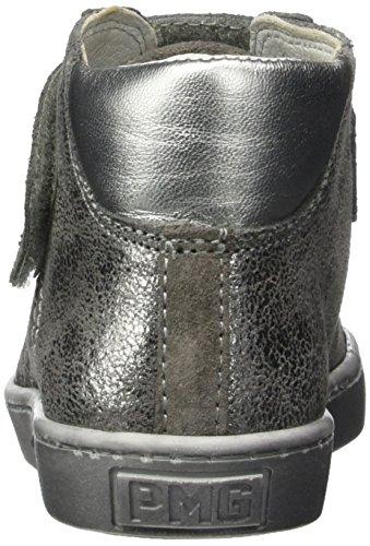 Primigi Pgl 8158, Sneakers Hautes Fille Gris (Fumo/grigio)