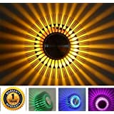 Smartway ® - 3W Sunflower Decorative Wall Lamp Led with Remote - Multicolour
