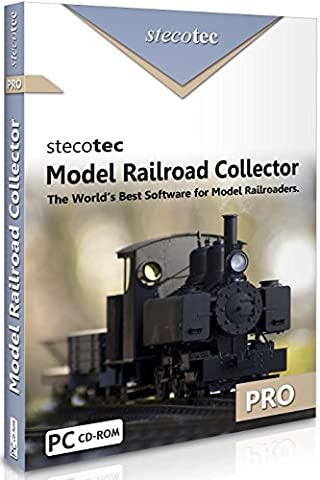 Model Railway Software: Stecotec Model Railroad Collector Pro - Inventory Program - Collection Management for Rolling Stock and Accessories (suitable for Hornby, Bachmann etc.)