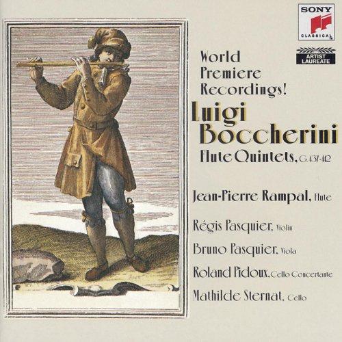 Boccherini: Quintets for Flute, Violin, Viola, and 2 Violoncellos
