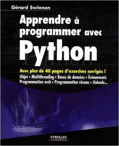 Apprendre à programmer avec Python