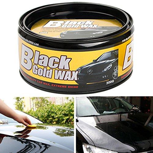 Autowachs Autowachs, schwarzes Wachspflege, wasserdichte Folie, Beschichtung Hartwachs, Lackreparatur, Kratzer und Flecken entfernen, schwarz