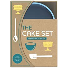 The Cake Set; Bake your way to success - with silicon cake mould and recipe book (Love Food) by Parragon Books (2012-08-03)