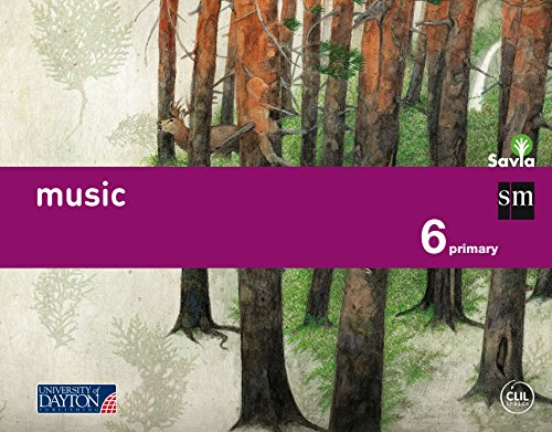 Music. 6 Primary. Savia - 9788415743859
