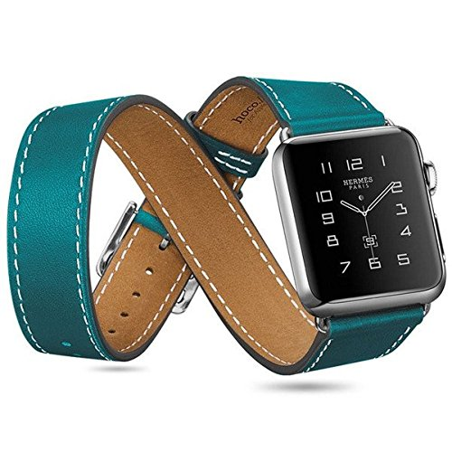 hoco-orologio-stile-hermes-apple-watch-confezione-da-3-braccialetti-in-pelle-blu-apple-watch-38mm