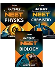 32 Years' Chapterwise Solutions(1988-2019) NEET - Physics,Chemistry,Biology