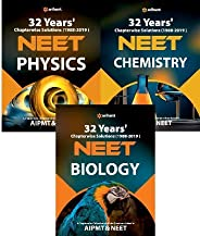 32 Years' Chapterwise Solutions(1988-2019) NEET - Physics,Chemistry,Bio