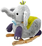 Little Rockers Elefant Schaukeltier Schaukelelefant Schaukel Wippe mit Musik