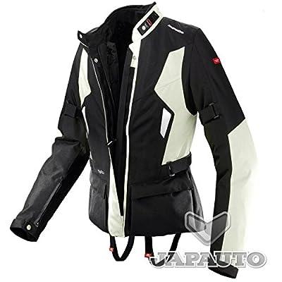 SPIDI Voyager Lady - Veste textile moto Noire/Ice Femme
