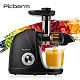 Juicer Machine, Picberm PB2110A Slow Masticating...