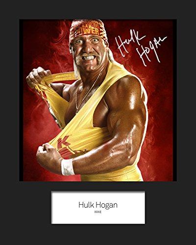 Hulk Wwe Unterzeichnet (Hulk Hogan WWE, signiert, 10x 8drucken)