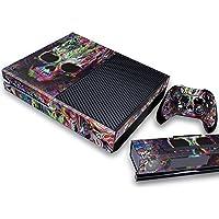 Pandaren® pieno sticker della pelle skin per le Xbox One console x 1 e controller x 2 e kinect x 1(colorato cranio)