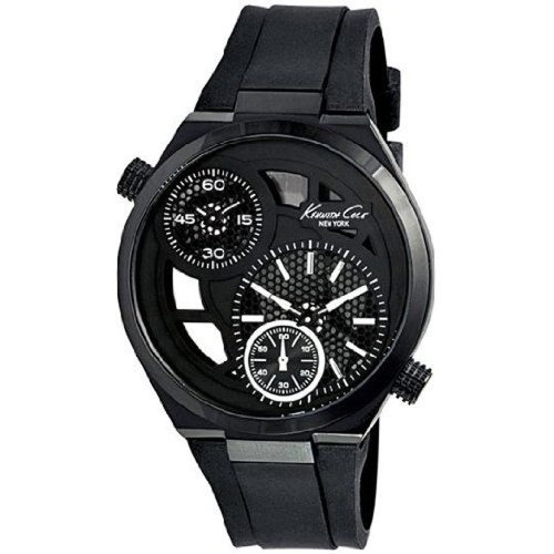kenneth-cole-kc8028-mens-new-york-black-transparent-dial-black-silicone-strap-watch