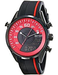 SO&CO Reloj 5044.4 Negro / Rojo