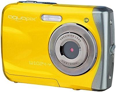 Easypix W 1024-Y Splash - Cámara compacta de 16 Mp (pantalla de 2.4