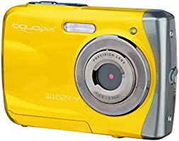 "Easypix 10014 Unterwasser Digitalkamera ""Aquapix W1024-Y Splash"" in gelb"