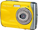 AquaPix W1024-Y Waterproof Camera - Yellow (10 MP) 2.4-Inch TFT LCD