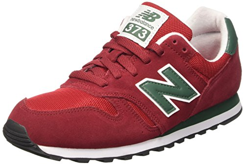 New Balance Classics Traditionnels - Zapatos de running para hombre, color rojo, talla 41.5