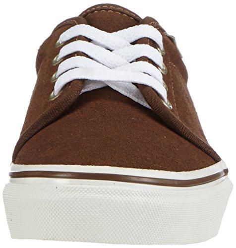 Vans - K 106 Vulcanized Vintage, Sneakers infantile Marrone (vintage dark earth/blanc)