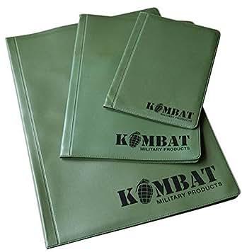 Kombat Army Combat A4 A5 A6 Nirex Dyrex Note Orders Order Book Map Holder Binder Folder Cover Surplus New (A4)