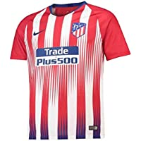 Nike ATM Y NK BRT STAD JSY SS HM Camiseta 1ª equipación Atlético de Madrid, Unisex niños, (Sport Red/White/Deep Royal Blue), M