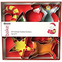 Dexam Swift Set of 7 Christmas Cookie Cutters